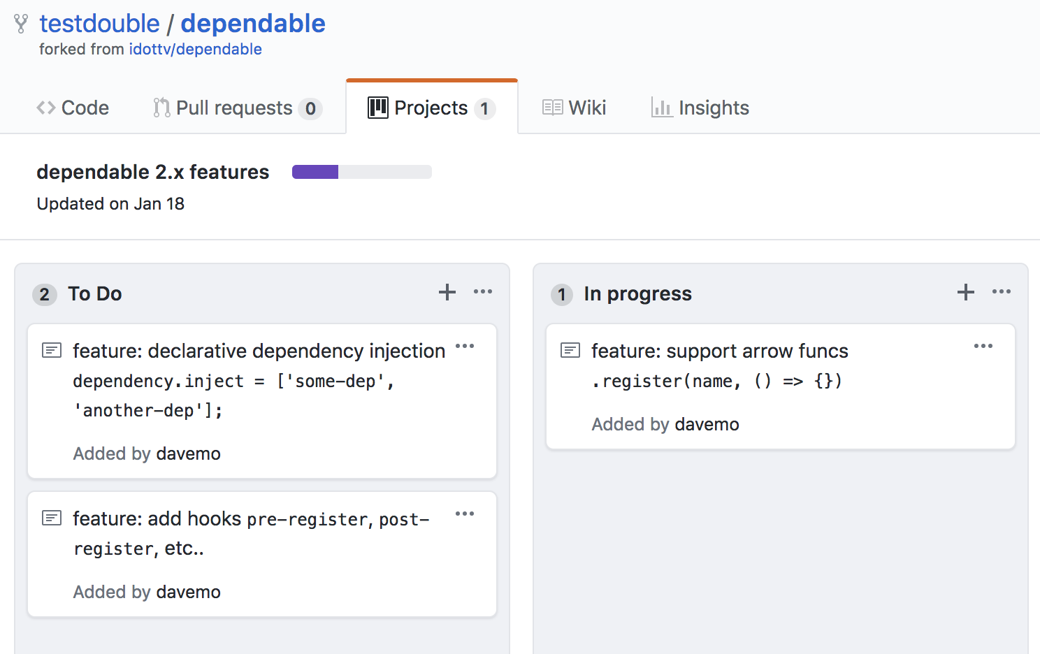 Github Projects